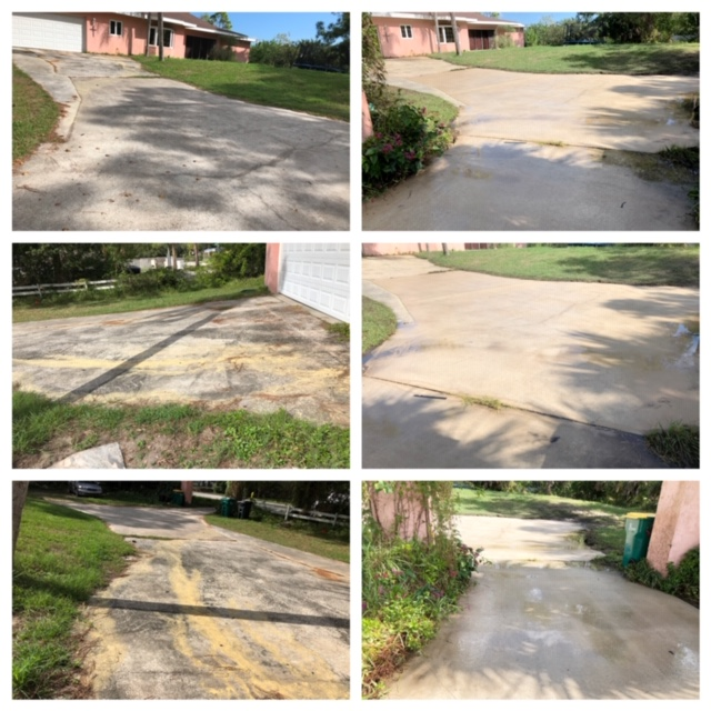 residential pressure cleaning services