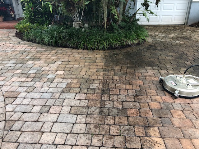 driveway cleaning in Palm Bay