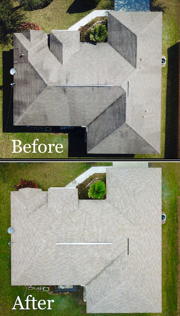 roof pressure cleaning company in Palm Bay