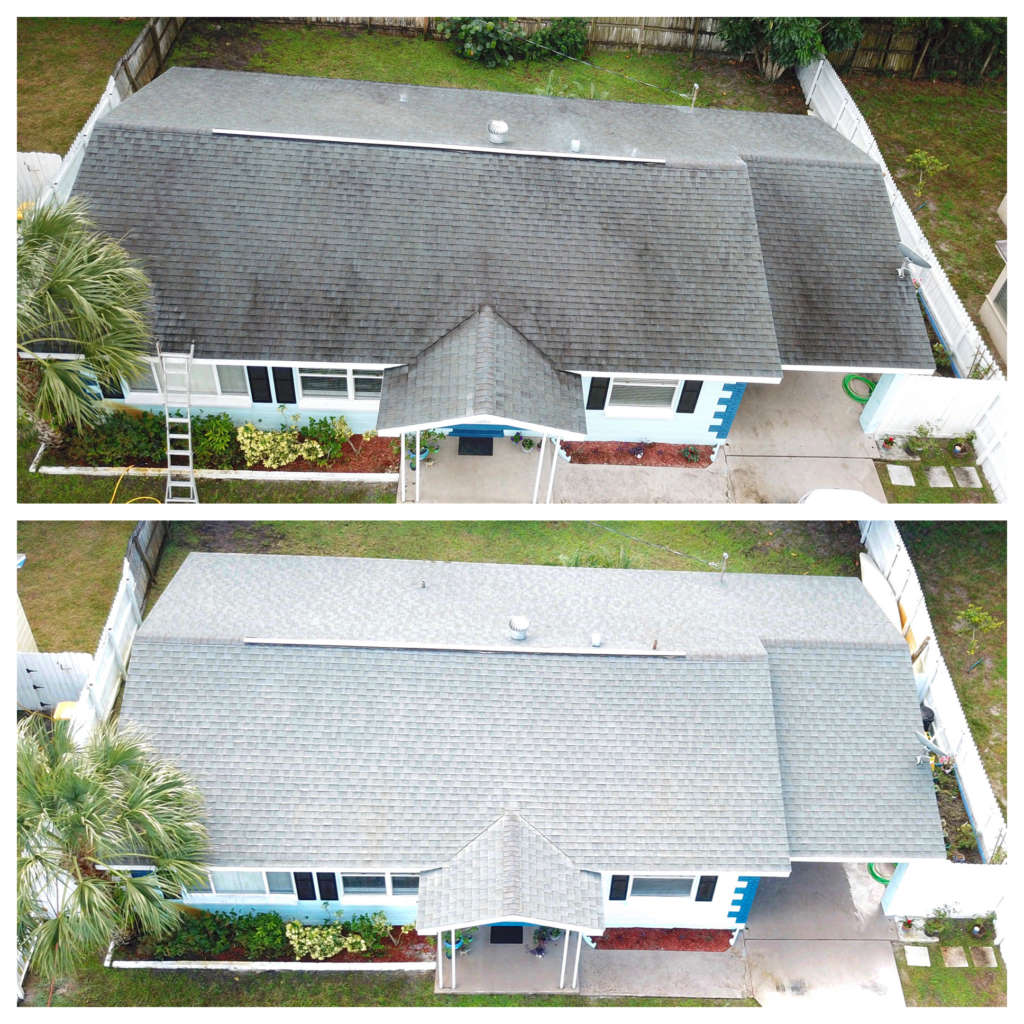 simple roof washing