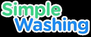 Simple Washing Logo